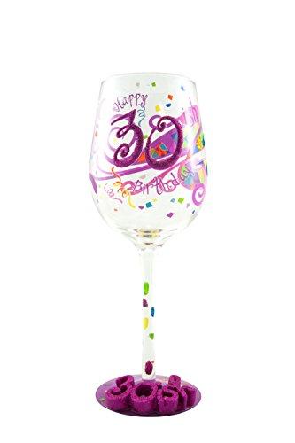 30-ish Birthday Wine Glass – Unique Gift Ideas
