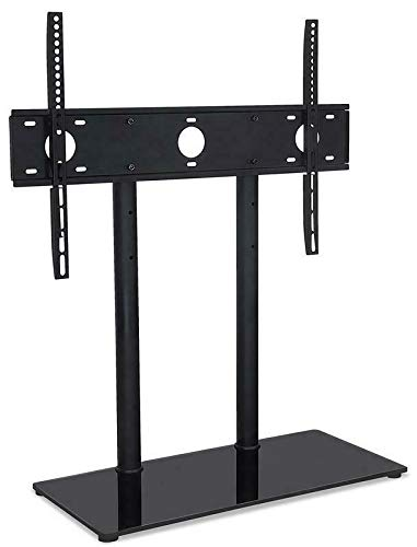 Ersatz-Tischplatte für Sony KD65SD8505, Hochglanz-Glas, Schwarz