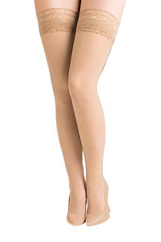 Gabriella Calze Plus Size 15 den, MELISA, size 5/6
