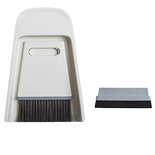 Escoba, cepillo de limpieza de escritorio, escoba y recogedor pequeño, juego de escoba de escritorio, escoba y recogedor para el hogar