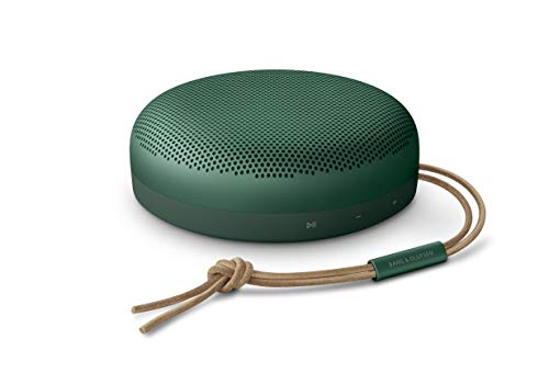 Bang & Olufsen Beosound A1 (2. Generation)– tragbarer, wasserdichter Bluetooth-Lautsprecher mit Mikrofon, Grün