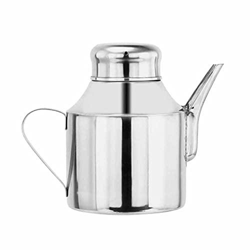 SMEJS Edelstahl Küche Essig Öl Flasche Mehrzweck Gewürz Ölsieb Topf Wasserkocher Container Filter Öl Lagerungstank