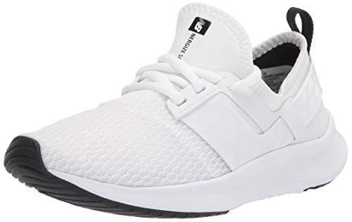 New Balance womens Nb Nergize Sport V1 Sneaker, White/Black, 6 US