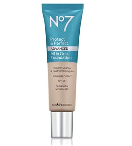 No7 Protect & Perfect Advanced All in One Foundation - CALICO