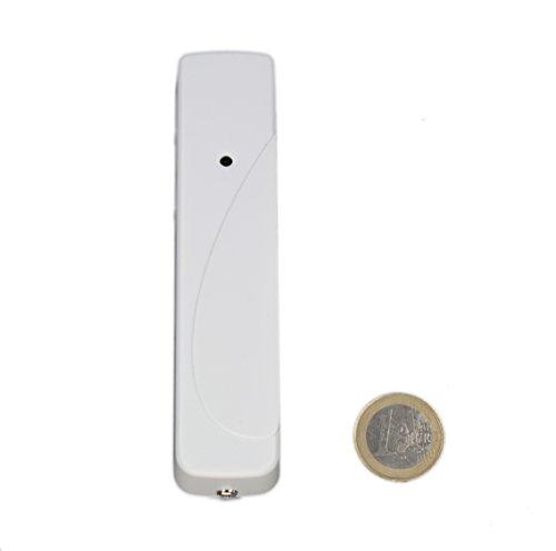 LUPUSEC temperatuursensor voor de XT Smarthome alarminstallaties, compatibel met de XT1 en XT2 (niet Plus) draadloze alarmsystemen, maakt temperatuurgestuurd schakelen mogelijk, automatisering, 12013