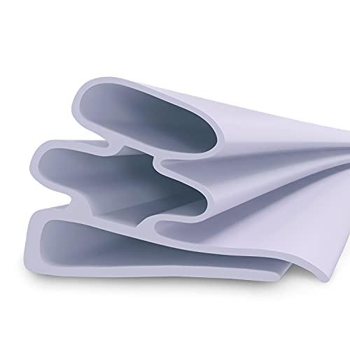 Dichtung Türdichtung 2 m Türgummidichtung Dichtungsgummi Kühlschrankdichtung Dichtring zum Einklemmen an Kühlschränken Dichtgummi Ersatzteile Zubehör für Kühltruhe Kühlschrank/Gefrierschrank