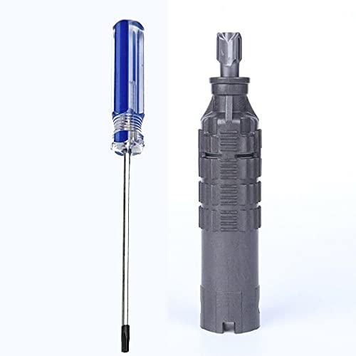 IUCVOXCVB Accesorios de aspiradora Ajuste del Destornillador del Motor para Dyson V8 V10 Vacío de la aspiradora 50W Direct Cleaner Head Motor Part Sweeper Limpieza de la Herramienta Reemplazo