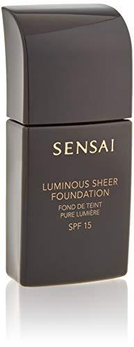 Kanebo Sensai Luminous Sheer Base de Maquillaje SPF 15 Tono 205 Mocha Beige - 30 ml