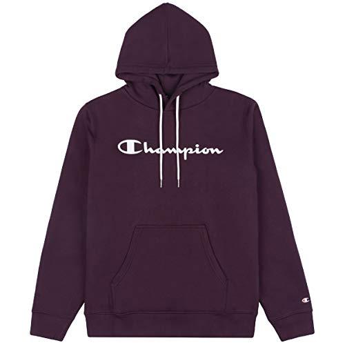 Champion 214743 F20 BS501 NNY Sudadera con capucha para hombre, azul oscuro violeta S