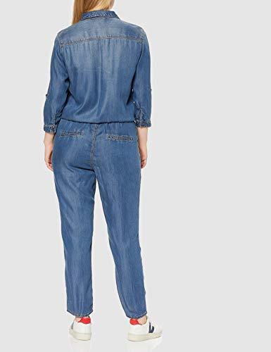 s.Oliver Damen Jumpsuit, Blau (Blue Denim Stretch) - 4
