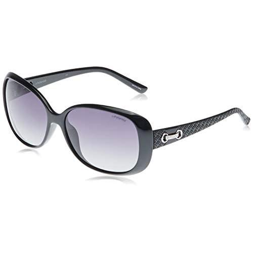 Polaroid women's P8430 Rectangular Sunglasses