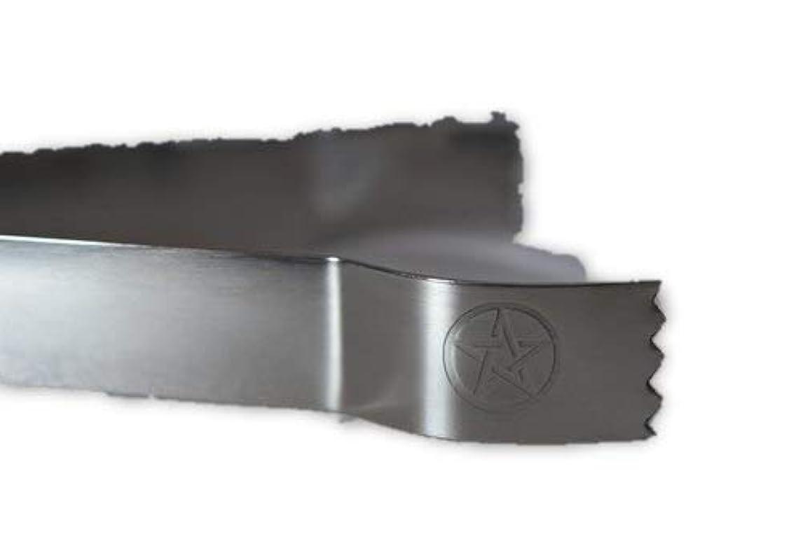 必要条件役に立つゴミ箱STAR Engraved Tongs for use withチャコールタブとIncense樹脂tool-ツールfor Blessings、クリア負Energies、しみ、Healing