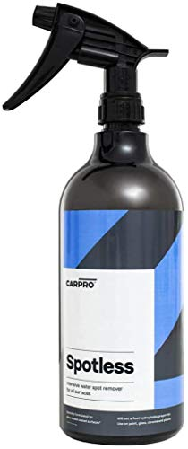 CarPro Spotless: Water Spot and Mineral Remover 1 Liter with Sprayer
