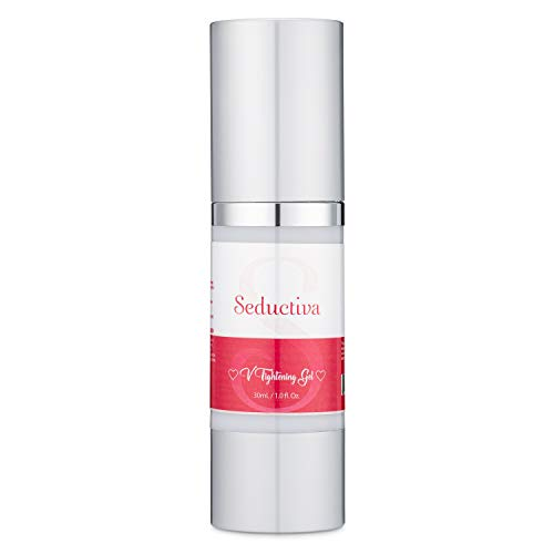 Vaginal Tightening Gel by Seductiva   Fast Acting Manjakani Gel Mimics Cervical Function   Restores Hydration to Vagina Area & Strengthens Vaginal Wall