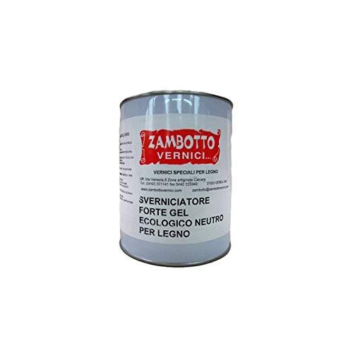 Decapante Forte Gel neutro para madera de 1 o 5 litros 1L transparente