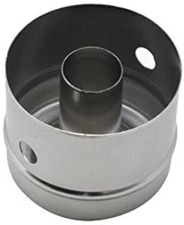 Winco CC-2, Stainless Steel Doughnut Cutter, Form for Donuts 3-Inch Diameter 2.5-Inch Deep