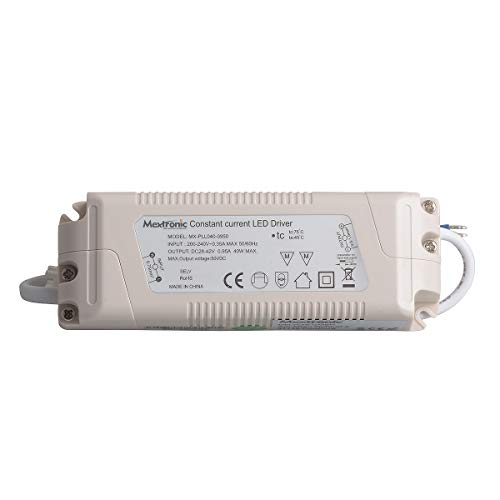 Mextronic LED constante stroombron transformator LED constante stroombron 39W 950mA 28-42V LED transformator voor LED-verlichting