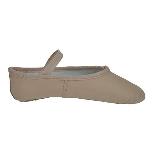 Starlite Basic Soft Leather Scarpette per Danza Classica Rosa Taglia 44.5