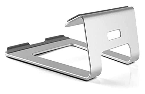 ZCX elevador de portátil Soporte de la computadora portátil de la aleación de aluminio, soporte de la tableta, soporte de enfriamiento de soporte de base vertical para una computadora portátil 11-15 e