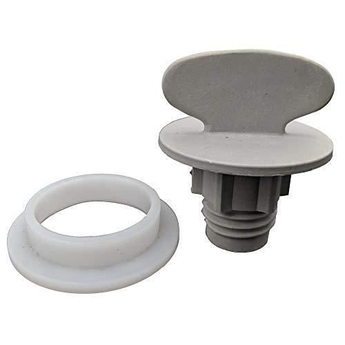 Supplying Demand 9742945 9742946 Dishwasher Spray Arm Nut And Sleeve Kit