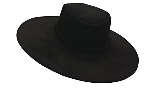 Sharpshooter High Plains Drifter Clint Eastwood Bounty Hunter Black Leather Hat