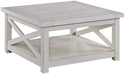 Best Seaside Lodge White Coffee Table by Home Styles