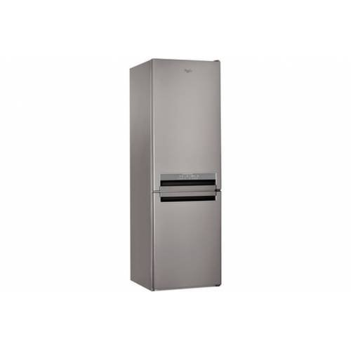 Whirlpool BSNF 8772 OX Libera installazione 315L A++ Acciaio inossidabile frigorifero con congelatore
