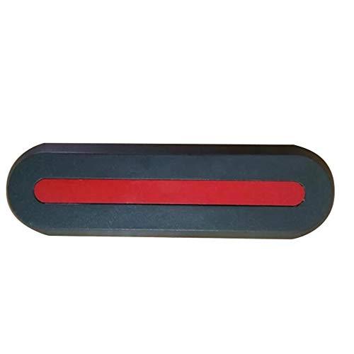 SMILEQ Cubierta de Rueda Trasera Delantera en Forma de U/I para el Motor de Scooter eléctrico For Xiaomi MIJIA M365 (Negra)