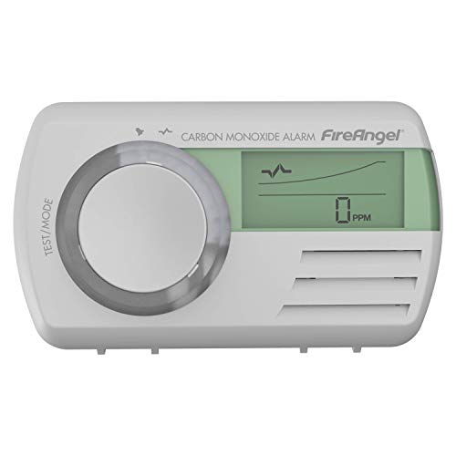 Fireangel CO-9D Digital Sealed for Life Carbon Monoxide Alarm, White