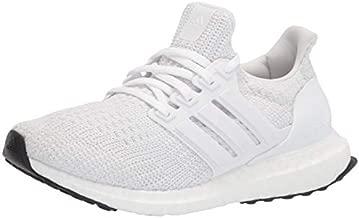 adidas Women's Ultraboost DNA Running Shoe, White/White/White, 8