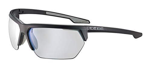 Cébé Cinetik 2.0 Gafas de Sol, Adultos Unisex, Matt Black Grey, Large
