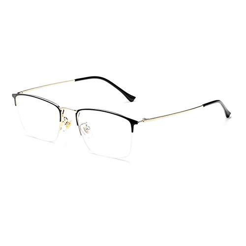 HQMGLASSES Gafas de computadora de luz Anti-Azul de Titanio