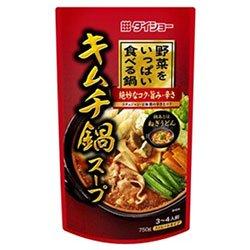 ダイショー 野菜をいっぱい食べる鍋 キムチ鍋スープ 750g×10袋入×(2ケース)