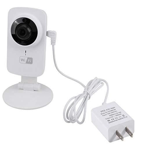 Cámara para Mascotas, Monitor de cámara para bebés con detección de Movimiento de Audio de 2 vías y Noche por Infrarrojos, Mascota de Edad Avanzada(U.S. regulations)