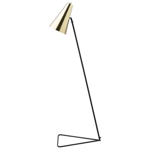 Bloomingville Stehlampe Schwarz/Gold