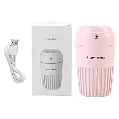 Naroote Difusor humidificador de Aire USB Colorido en Forma de Taza Port¢Til con luz de Noche LED para Coche de Oficina en casa(#3)