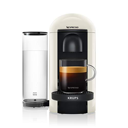 Krups Nespresso XN9031 Vertuo Plus koffiecupmachine, wit, 1.1 l waterreservoir