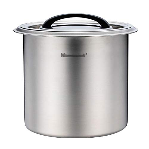 Amazing Deal Stainless Steel Visual Bucket Cover With Silicone Ring Safety And Environmental Protect...