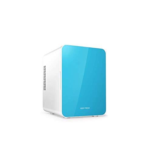 Portable Mini koelkast 12v 220v, Electric Cool Box Car koelkast, auto en thuis for tweeërlei gebruik een warm en koud for tweeërlei gebruik Mute (Kleur: Blauw) LOLDF1 (Color : Blue)