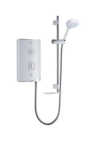 Mira Showers 1.1746.001 Sport 7.5 kW Electric Shower - White/Chrome