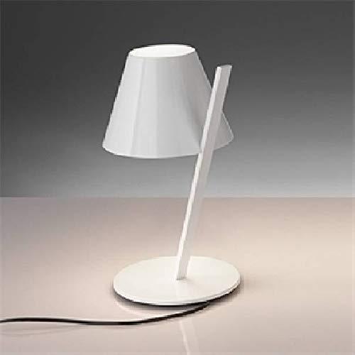 Artemide La Petite Tischlampe, Aluminium, Weiß, 25 x 19,4 x 37 cm
