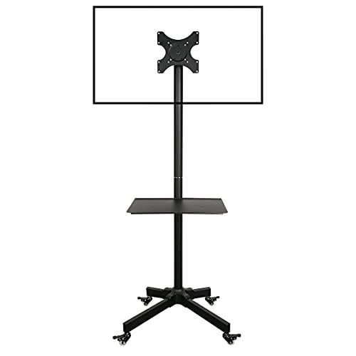 """Ergosolid Soporte con Ruedas Ajustable para TV LCD LED, 19""""- 37""""(48 a 94 cm de diagonal) con VESA máx. 200 x 200 mm, hasta 20 kg"""