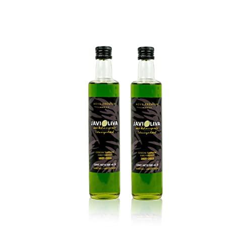 JAVIOLIVA - Aceite de oliva virgen extra PREMIUM - variedad Picual -COSECHA TEMPRANA...