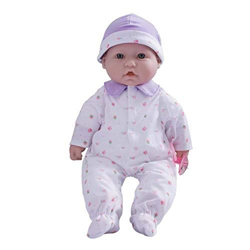 JC Toys, La Baby 16-inch Purple Washable...