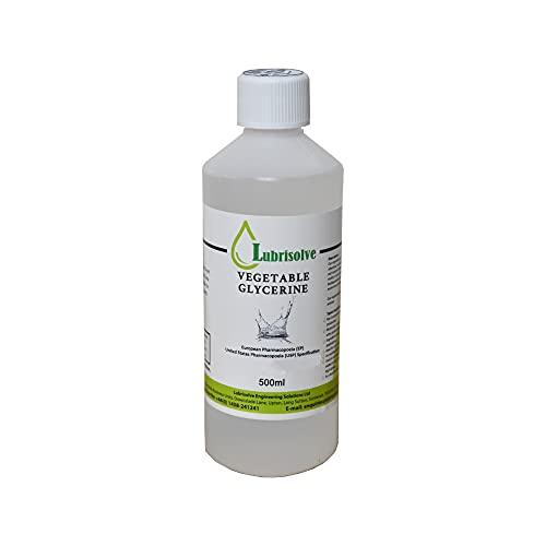 500ml Glycérine végétale USP/nourriture/catégorie cosmétique 100% pure