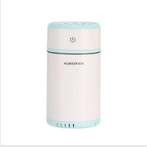 DFJU Umidificador Premium Difusor de óleo essencial Umidificador de óleo perfumado de aromaterapia ultrassônica, Interruptor de segurança de desligamento automático, 7 Cores de luz LED