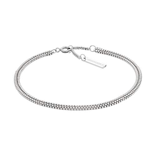 Liebeskind LJ-0452-B-20 Damen Armband Edelstahl Silber 19,5 cm