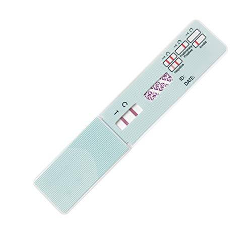 Easy@Home 25 Pk Alcohol Ethyl Glucuronide EtG Urine Test Panel Strips, Home Testing kit for Drinking Detox,80 hr Drug Test Detection time exceeds breathalyzer Saliva Drink Tester,500 ng/mL #EtG-114