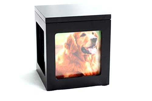 Heavenly Home Photo Cube Pet Urn