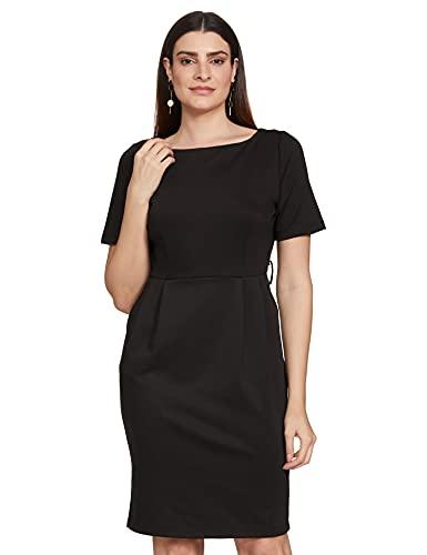 Van Heusen Woman Women's Cotton A-Line Midi Dress